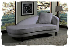 Gibson Light Charcoal Polyester Fabric Chaise  - BRAND NEW