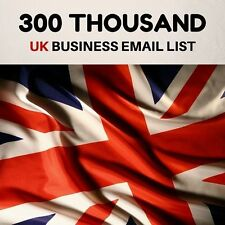UK Business Database & Email List 300 k for Email Marketing Telemarketing