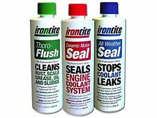The 3 Pack of Irontite Additives - Thoro-Flush All Weather Seal and Ceramic M