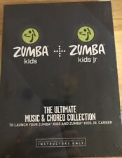 NEW Ultimate Music & Choreo Collection Zumba Kids Jr Instructors 10 Disc DVD Set