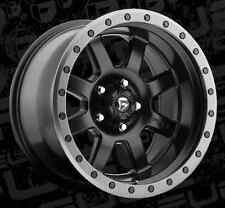 Fuel Trophy D551 18x10 6x5.5 ET-12 Matte Black Wheels Rims (Set of 4)