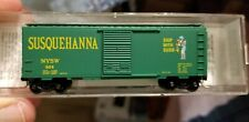 N SCALE MICRO-TRAINS NEW YORK SUSQUEHANNA & WESTERN 40' SINGLE DOOR BOX CAR #504
