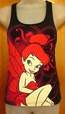TINKERBELL girls shirt Disney youth med Peter Pan racerback tank-top fairy