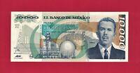 Mexico UNC 10,000 Pesos (May 16, 1991) Note (P-90d.3) Depicting Gen. L. Cardenas