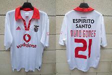 VINTAGE Maillot BENFICA ADIDAS 2004 CENTENARIUM jersey shirt NUNO GOMES trikot M