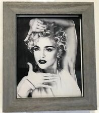 "Madonna Framed Photograph 8""x10"" Professionally Framed & Matted to 10.5"" x 12.5"""