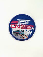 Canadian National Railways Test Engineering Patch Authentic CNR Vintage Unknown