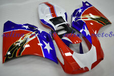 FAIRING Set Bodywork Cowl Fit For Ducati 1994-2002 1996 916 748 996 Plastic Kit