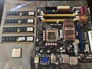ASUS P5E-VM HDMI Motherboard  |  Intel Xeon 5460  | Geil 8GB DDR2 RAM (Retro PC)