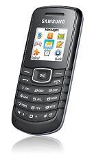Samsung GT E1080W schwarz Handy einfach günstig - solider Klassiker! NEU!
