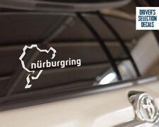 Nurburgring track Car window Sticker JDM DUB DECAL RING