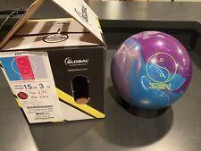 900 Global Zen Bowling Ball 15lb NIB