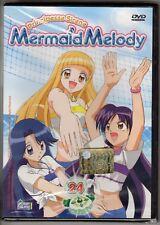 dvd MERMAID MELODY Principesse sirene HOBBY & WORK numero 24