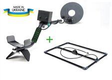 Pulsed metal detector + depth frame, waterproof coil, up to 2.3 meters (90 inch)
