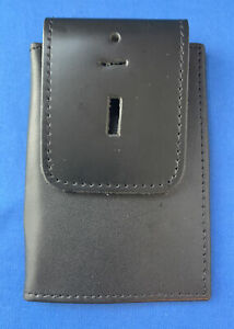Perfect Fit Double ID Case Universal Outside Mount Badge Holder Leather