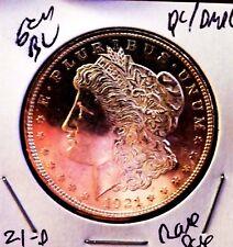 Morgan Silver Dollar 1921 D Ch Gem bu PL/DMPL Glassy MS++++++++ Monster Rare PQ