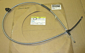 NOS Mopar # 32002642 parking brake cable 1985 1986 1987 Renault Alliance