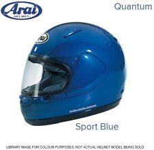 #ARAI QUANTUM - MOTORCYCLE HELMET - SPORT BLUE - SMALL - EXCEL COND - £74.99