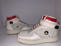 Coach x NASA Space Collection Spaceship Beige HiTop Sneakers G1013 Sz 6.5 US R1