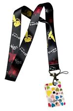 Anime Lanyard Keychain Id Holder Lot of 3 Closeout Cosplay Lanyards