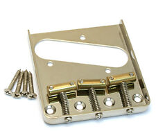 Nickel Compensated Brass 3-Saddle Bridge for Fender Telecaster/Tele® TB-5125-001