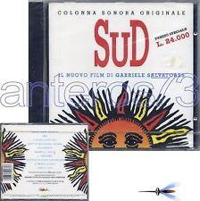 "GABRIELE SALVATORES ""SUD"" RARO CD OST 1993 - SIGILLATO"