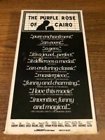 The Purple Rose Of Cairo VHS VCR Video Tape Movie Mia Farrow Used