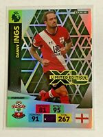 **DANNY INGS SOUTHAMPTON PANINI EPL ADRENALYN XL LIMITED EDITION CARD 2020-21**