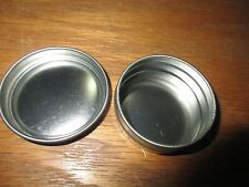 (1) 2 OZ Round Screw Top Snuff Survival Crafts Storage Tin Can Lid Container NEW