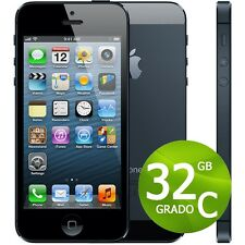 APPLE IPHONE 5 32 GB NEGRO+ACCESORIOS + GARANTÍA 12 MESES REACONDICIONADOS 5 G