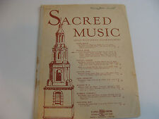 O Lord Most Holy High Voice 1936 sacred song Cesar Franck Messe Solennelle