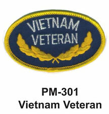 """3""""  VIETNAM VETERAN Embroidered Military Patch"""