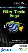 NT Labs Marine Filter Media Bag Pack of 3 Carbon Rowa Phosphate Remover HD