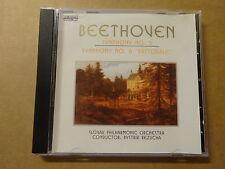 CD / BEETHOVEN: SYMPHONY N° 5,6 - PASTORALE - BYSTRIK REZUCHA