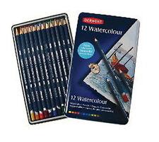 Derwent Watercolour Pencils 12 Tin - NEW & IMPROVED