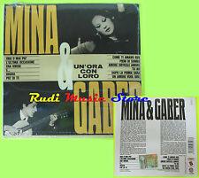CD MINA & GIORGIO GABER Un'ora con loro DIGIPACK 2011 SIGILLATO lp mc dvd vhs