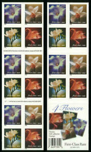 US #3454-57 MNH Booklet of 20 Lilies, BK281, 2000