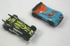 Hot Wheels Slot Car Track Set Cars x 2