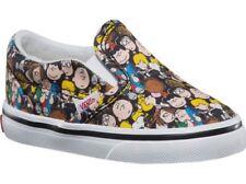 cee2403db546 VANS Peanuts The Gang Black Skateboard Classic Slip on Toddler Kids Sz 6.5