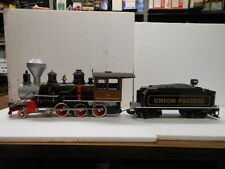 Bachmann G Scale Steam Engine & Tender w/ Sound & Metal Wheels- Union Pacific 12