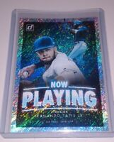 2020 Donruss Baseball FERNANDO TATIS JR 'Now Playing' Holo Silver Refractor