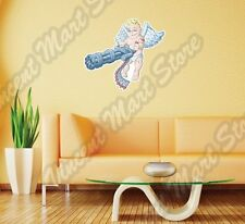 """Cupid Love Attack Machine Gun Angel Wall Sticker Interior Decor 25""""X22"""""""