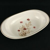 VTG Oval Vegetable Serving Bowl Noritake Versatone Outlook Floral B305W10 Japan