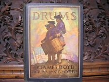 """1928 JAMES BOYD """"DRUMS"""" PICTURES BY N.C. WYETH-CHARLES SCRIBNER'S SONS PUBLISHER"""