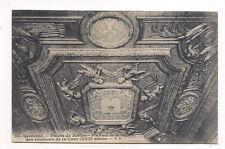 grenoble, palais de justice , plafond de la salle des réunions de la cour