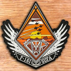 "ISRAEL AIR FORCE F-16I PEN 6 (SHELTER) 201 SQD PVC PATCH 3D ""SUFA"""
