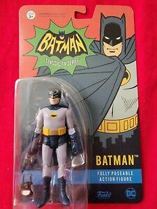 "Funko Batman 3.75"" Action Figure  Classic 1966 TV Series - Adam West Batman"