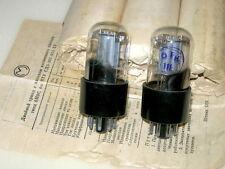 2x 6n9s / 6sl7/ 1579 tubes MELZ same codes NOS NIB