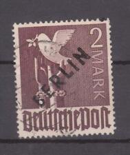 Berlin 1948, Schwarzaufdruck, Mi-Nr.18, gestempelt, Michel 500€