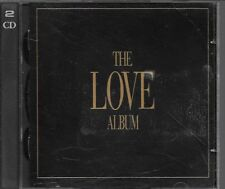 2 CD COMPIL 39 TITRES--THE LOVE ALBUM--UB40/FOREIGNER/CHICAGO/MEAT LOAF/CARLISLE